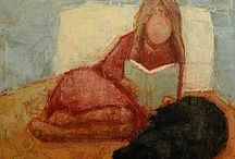 Bücher und Leseratten / by Silvia