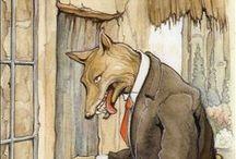 Märchen 2 - Der Wolf und die 7 Geißlein u.a. / by Silvia