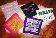 custom tees / Design your own custom tee shirt today! / by Zofaa Clothing