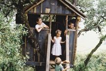 Casa del árbol / La vas del árbol, para niños, adultos y animales!!! Un gran sueño de juventud.!