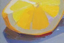 Akvarel citrus
