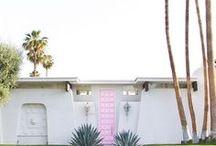 wanderlust - palm springs / Palm Springs inspo - dream destination!