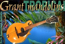 Grant Mandolins / From the tropics of Far North Queensland Australia, native timbers are partnered with fine craftsmanship to create eight stringed musical pleasures. A limited number of hand built mandolin family instruments are produced each year, and are sold only at the workshop door.