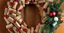 Wreaths for the door. / I love seeing the wreaths on doors in films. They make the house look so welcoming. So, here is a selection of those wreaths I like.