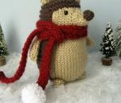 Cute Hand Knitted Toys / Beautiful, Adorable & Funny Hand Knitted Toys! http://knitting.myfavoritecraft.org/knitted-toy-patterns/