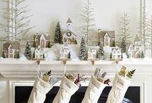Новый год и рождество. Интерьер и декор. / Праздничный новогодний и рождественский декор и дизайн интерьера. Украшения.