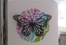Butterfly Cards / Ideas and Inspiration.