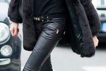 Black clothes black boots black passion loves / All black clothes boots everything black I love