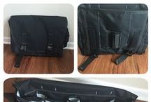 The Classic Messenger bag / Photos, reviews, features, and more about The Classic, one of 3 sizes of Messenger diaper bags from DadGear