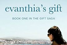 EVANTHIA'S GIFT : BOOK ONE IN THE GIFT SAGA / This Greek American family saga follows a multigenerational story of love, loyalty, and culture. An emotional novel about family bonds and the difficult pull between home and heritage.  From Greece to New York. From the 1950's to the 1990's. Two generations of passionate women overcome life's struggles to chase their dreams.