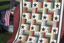 Jelly Roll Quilts / http://quilting.myfavoritecraft.org/