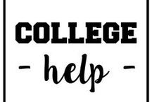 University / College Tips / For all the students in University or College needing some tips and help to get through the semester!