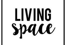 Living Space / This board is for anyone who loves interior design, DIY home decor and organization ideas!