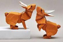 Paper Easter / #papercraft #diyeaster #easterdecor #homedecoreaster