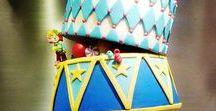 Circus party. Circus decor. Carnival party. / #circusparty #circusbirthday #carnivalbirthday #carnivalparty #paperdecor #circusdecor #vintagecircus #circustheme #carnivaltheme
