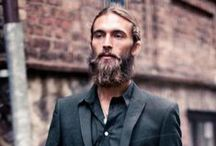 Men's style and fashion, classic chic and beards / Beards, men, classic, fashion, chic,