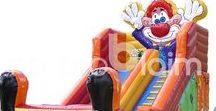 Aufblasbare Fun und Action Games / Fun und Action Games von no problaim - Hüpfburgen, Riesenwuzzler ... Anfertigung von aufblasbaren Spielobjekten nach Kundenwunsch