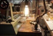 • Industrial Style Lighting •