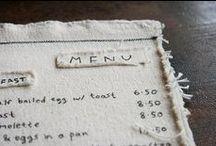 M E N U / #restaurant  #menu