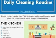 Home Cleaning Tips / Quick and easy home cleaning ideas