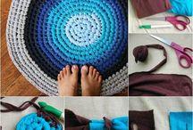 Tejido Trapillo / Reciclado de ropa de algodón