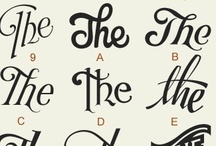 Great Typography / Interesting typography solutions.