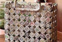 Výrobky z papíru, proutí, pedigu, slámy ..........
