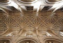 Beautiful gothic ceiling