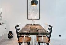 InteriorLove / interior inspiration - modern, scandinavian, b&w, clean lines, DIY