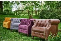 Alexander & James Sofa Collection / The 2015 Alexander & James Sofa Collection. A selection of the current models available at www.grampianfurnishers.com/alexanderjamessofas  #alexanderjames #sofas #fabricleather #vintage #2015style