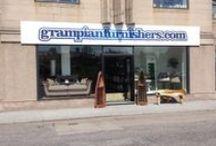 Grampian Furnishers 2015 / In store and team gf staff images from Grampian Furnishers, Lossiemouth in 2015. www.grampianfurnishers.com