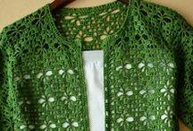 Zöld kardigán