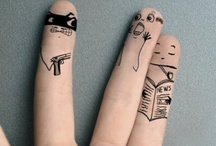 finger peeps / by cheyenee_da_1 and_only