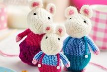 Toys: Knitting & Crochet Patterns / Here are our favourite cuddlies from recent issues of Let's Get Crafting