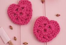 Free Valentine's Knitting & Crochet Patterns / LGC Knitting & Crochet magazine's choice of free Valentine's patterns from around the web