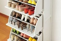 Get organized. / Because I really don't like clutter but I'm super unorganized
