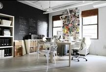 Office Spaces / An office space with personal touches can not only make your work day more fun, but make you more productive. These are a few design ideas for our home away from home.