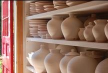 Miranda Thomas Pottery, Vessels, Ceramics / Miranda Thomas Pottery is a workshop world renowned for making beautiful hand decorated pots . Our team of potters are masters in hand-throwing and free-hand decoration skills in slipware, sgraffito and brushwork.