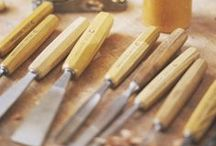 Tools / The tools for living and making. Whether carving a pot, hand-planing a table, writing a letter, or baking bread, these are the tools we covet and use at ShackletonThomas.