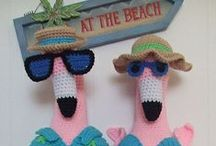 Flamingo: Knitting & Crochet Patterns / LGC Knitting & Crochet magazine's pick of the best knitted and crocheted flamingos from around the web