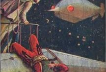 Classic SciFi Art / Visual reference of classic Sci-Fi art to serve as inspiration and motivation.
