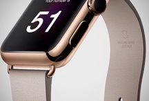 Apple Watch : montre connectée / Apple and Samsung