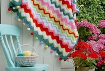 Pom-pom Power / Who doesn't love a bit of pom-pom action? We love these knitting and crochet ideas.