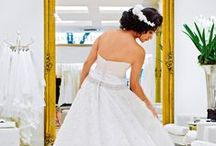 Wedding day! / Stylish brides and tips to make your special day that much more special