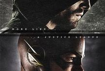 Arrow :) - Stephen ❤ - The Flash :) - Grant ❤ Arsenal :) - Colton ❤ Felicity :) - Emily :)