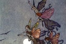 Faery Tales / A collection of images from Faery Tales, Folklore and Children's Books gathered together in one place as a visual reference to aid in my work on Wermspittle.