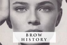 BROW HISTORY / A look through brow trends over the years...