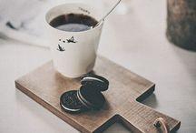 Coffee etc / Coffee, tea, hot chocolate, cakes etc