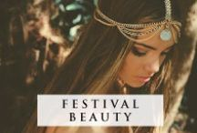 BOHO BEAUTY / Festival season is upon us and we're getting make up inspired...