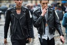 l e a t h e r e d / . everyone needs a leather jacket in their wardrobe for that laid back rock look we all love .